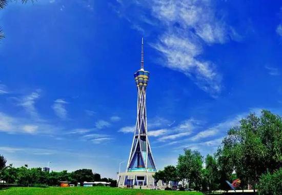 世界第一高钢塔而已:中原福塔.