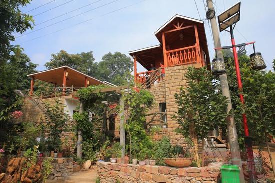 南平同城游戏大厅豫西南藏着一个原生态村落 保存42套百年石屋