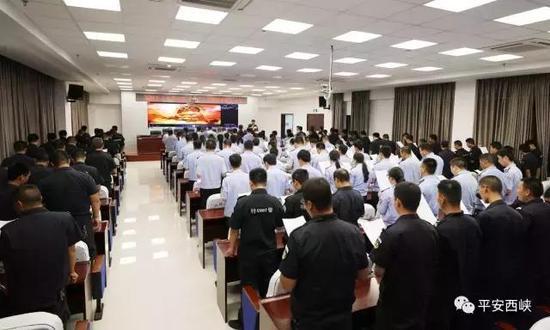 中国人民警察警歌 唱响西峡警营