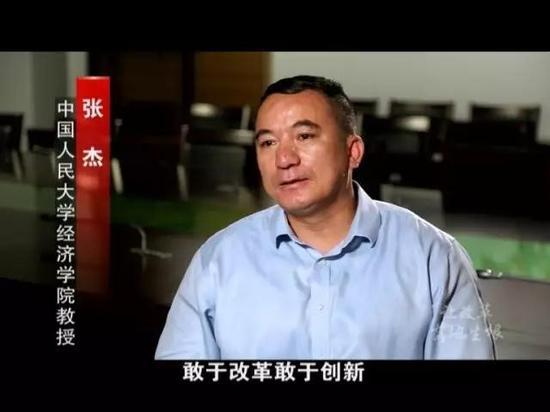 中国人民大学经济学院教授 张杰
