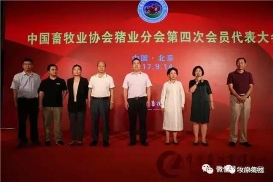 牧原集团秦英林当选中国畜牧业协会猪业分会执行会长图片