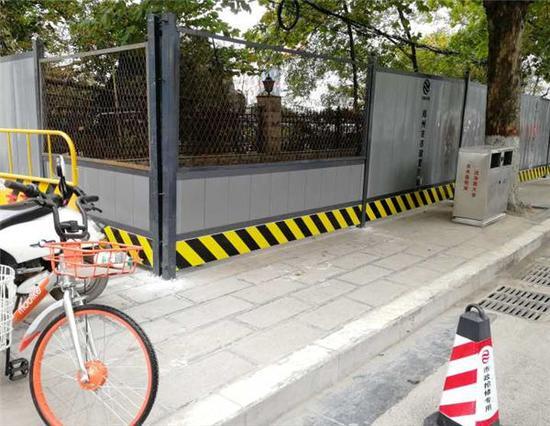 郑州施工围挡将采用蓝色变烟灰色的新标准——郑州网