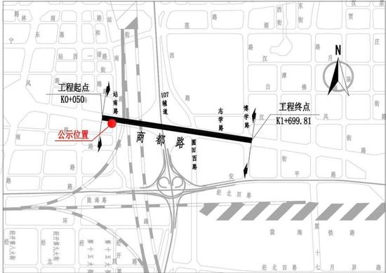 郑州金水路、商都路要下穿新东三环啦——郑州网