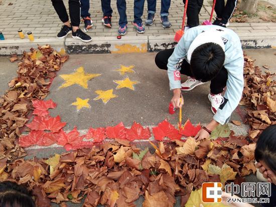 黄河科技学院应用技术学院—— 一颗红心向祖国。
