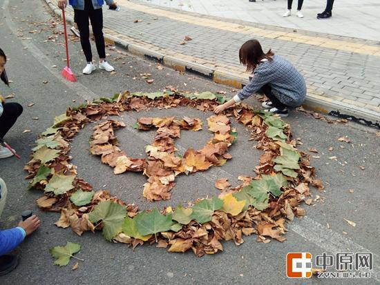 落叶是生命的延续。