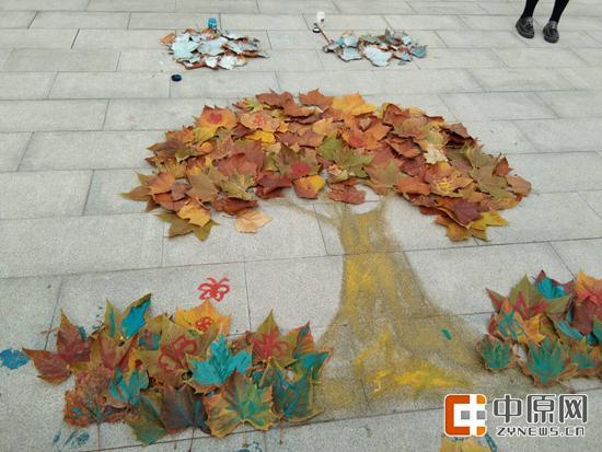一笔一画,画出一个秋天的童话。