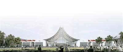 郑州新国际会展中心效果图