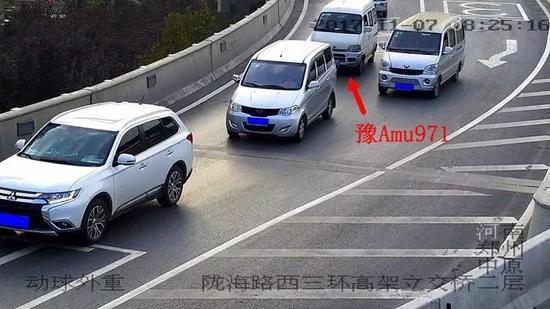 郑州拉链式交通试行两周,交警公布这些车辆被抓拍了