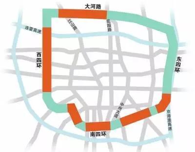 """新107国道通车,即""""东五环"""""""