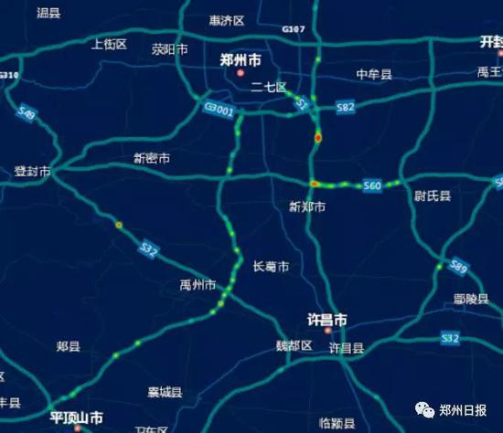 假期期间全省高速易堵路段热力分布预测