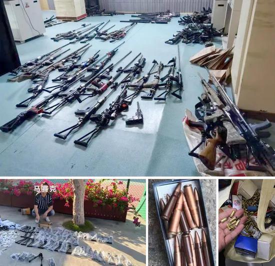 44名嫌疑人因涉嫌非法制造、买卖枪支被南阳警方抓获