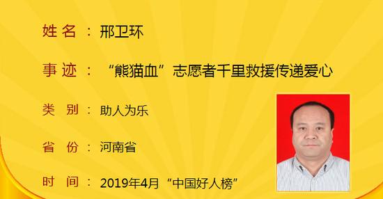 4月中国好人榜发布 105位好人上榜其中10位是河南人