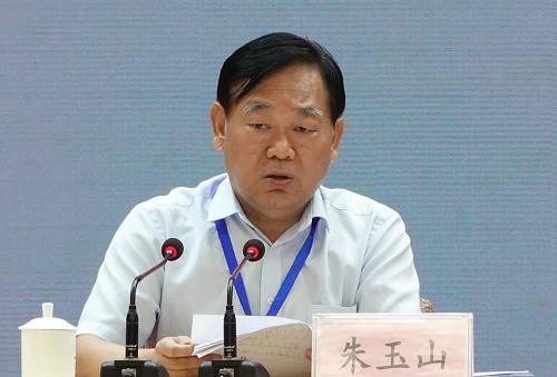 省教育厅党组成员、省招办主任朱玉山出席会议并讲话