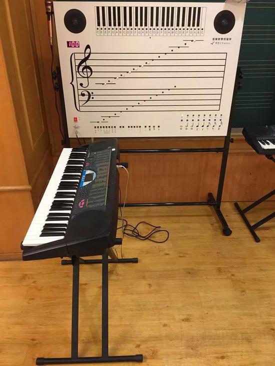 吴舜云研制的音乐教学视窗琴获得了专利和政府奖励