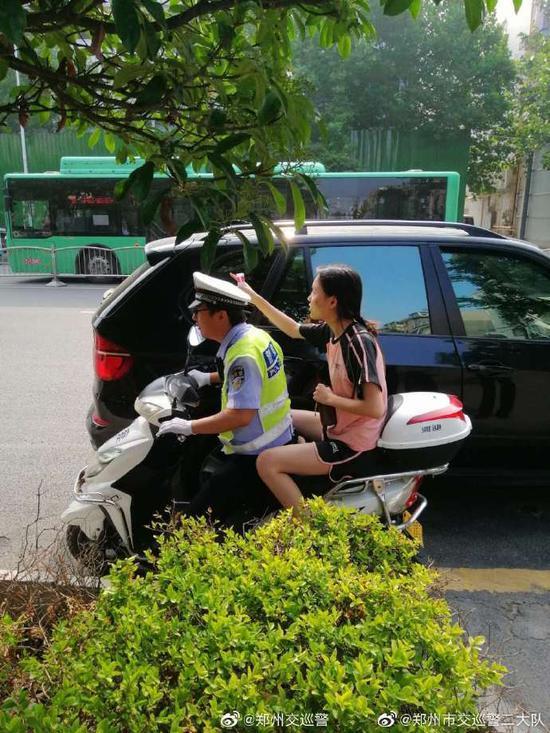 郑州市公安局交警支队 贾炜 供图