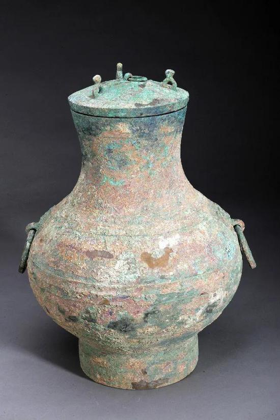 洛阳纱厂西路西汉墓出土的保存有液体青铜壶