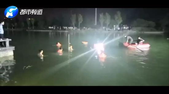 8月2日晚上8点多濮阳市一女童落水