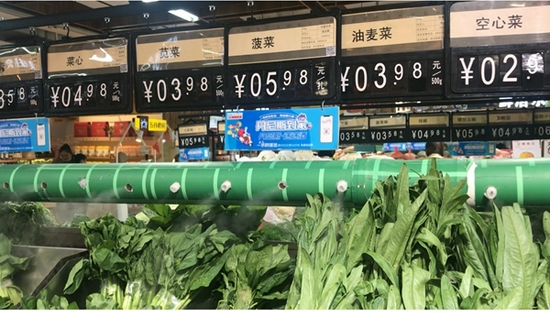 网传菠菜15元一斤比肉还贵?记者实探郑州农贸市场