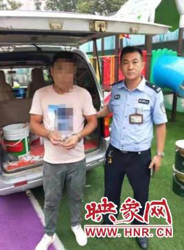 男子诈骗潜逃后当起油漆工 没想到还是被郑州民警找到