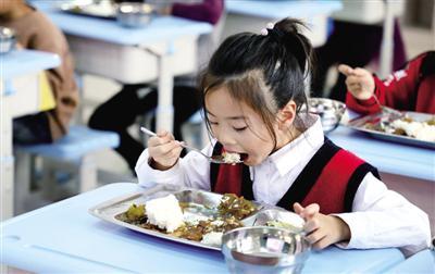 中小学午餐供餐 郑州市内九区已实现全覆盖
