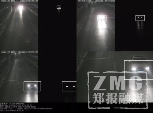 """""""滥用远光灯""""开拍第一天 郑州92辆车被监控抓拍"""