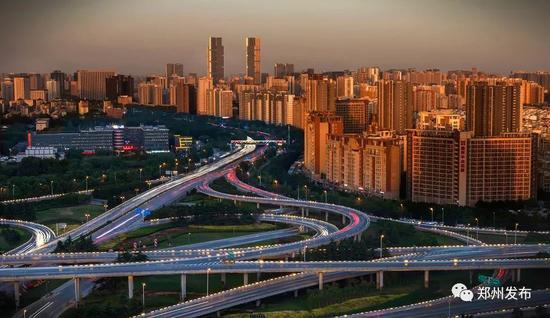 ●郑州金水立交 摄影:王玉明