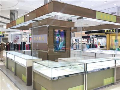 大商全面退出紫荆山店的运营,商场内不少商家已撤柜