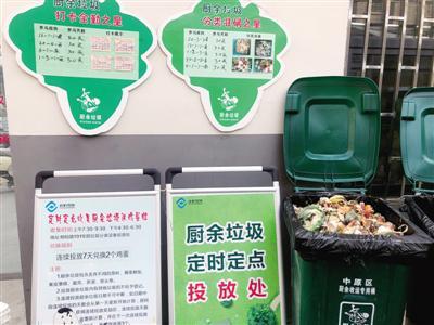 中原区桐柏路191号院垃圾分类投放点