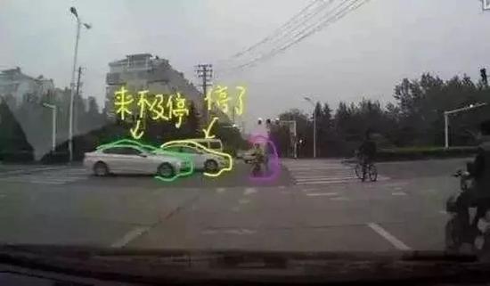 2路侧停满车的地方,注意周边