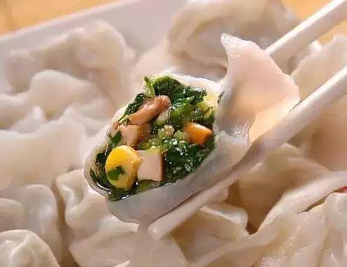吃法:荠菜饺子