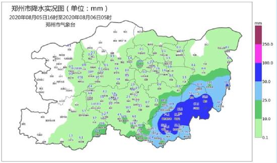 郑州今夜有中雨 明天中到大雨