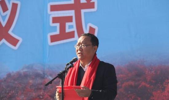 弘扬孝道文化 竹林长寿山第八届重阳节孝老敬亲活动举行