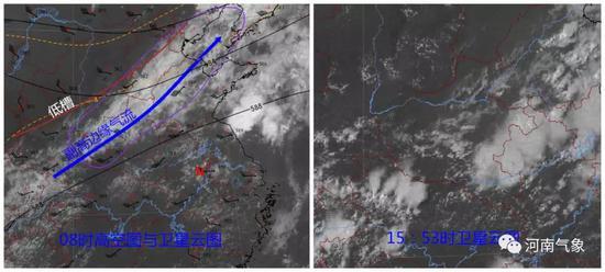 受上述两块云系影响