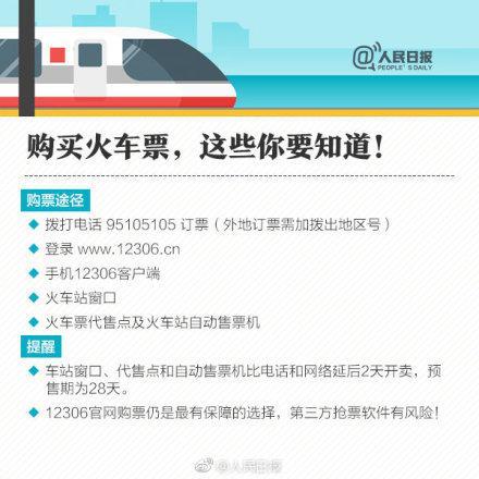 2019年元旦假期火车票已经开售!