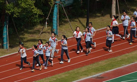 快乐校园回来了!郑州市小学全面复课(图)