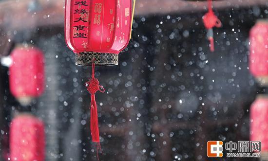 自然降水+人工增雪!河南今年第二场雪下得算有诚意