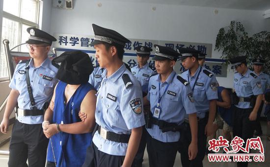 犯罪团伙被警方抓获