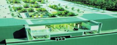 郑州市民公共文化服务区南区地下综合管廊效果图记者洪波翻拍