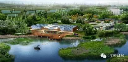 湿地公园面积651h㎡;湿地类型:河流。