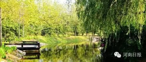 湿地公园面积673h㎡;湿地类型:人工。