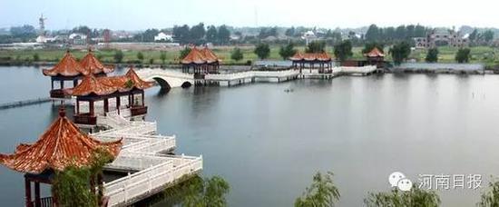 湿地公园面积519h㎡;湿地类型:湖泊。