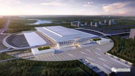 建筑设计研究院(集团)有限公司设计的《郑州南站建筑概念设计方案》