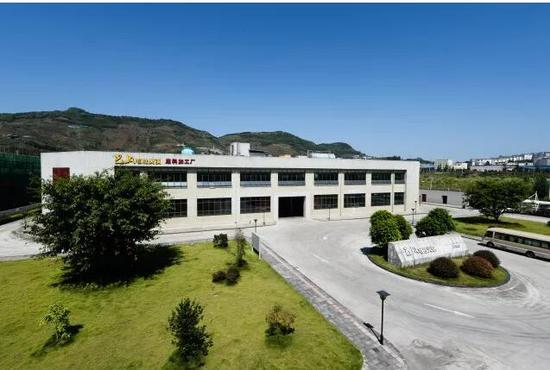 ▲ 图为巴奴在重庆投资3000多万打造的底料加工厂