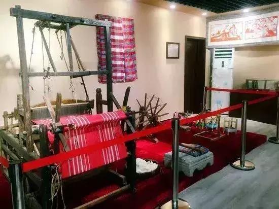 ▲中国农耕社会土棉布生产技术