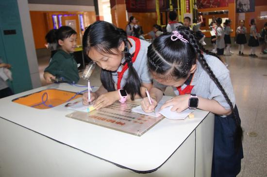 艺小少年科技之旅 感受科技魅力—惠济区艺术小学研学课程纪实