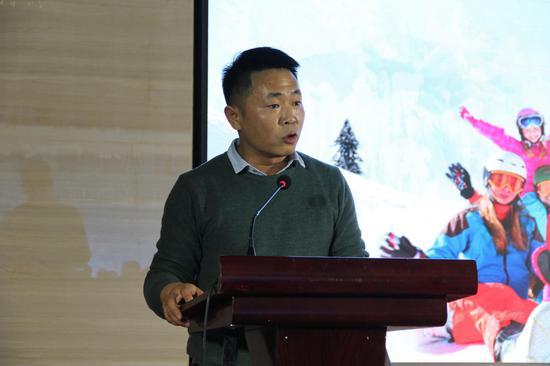 """""""大美嵩县,冰雪盛宴""""2018年嵩县第二届冰雪节推介会在郑州盛大举行"""