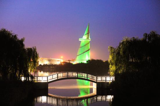 绿博园夜游即将启幕 带你感受越夜越美丽的绿博夜景