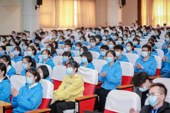 """2020""""中国体育彩票·新长城助学基金"""" 在河南师范大学举行"""