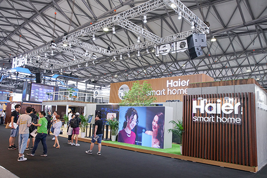 CES Asia 2019 | 智能家电环环相扣 海尔展示智慧家庭解决方案