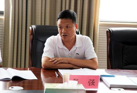 民进郑州市委副主委张强讲话